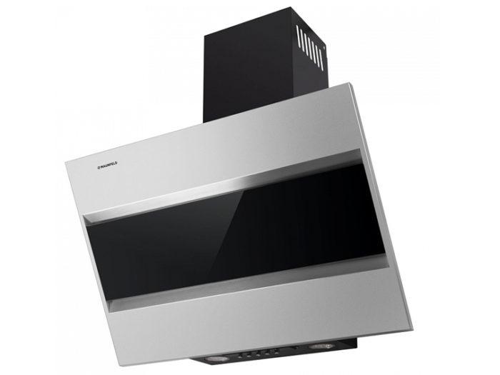 Кухонная вытяжка MAUNFELD BRIDGE 60 нержавеющая сталь\черное стекло