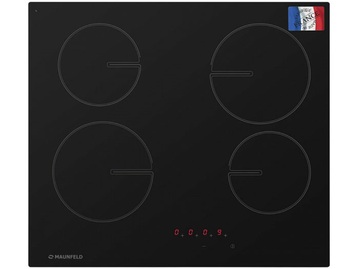 Стеклокерамическая панель MAUNFELD MVSE59.4HL-BK черный